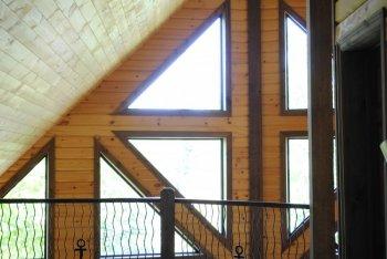 Cadres de fenêtres en bois