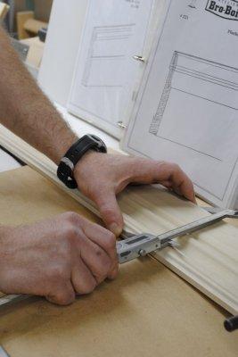 Moulures en bois personnalisées